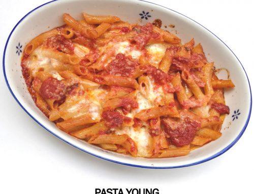 High Protein pasta al forno con ragù