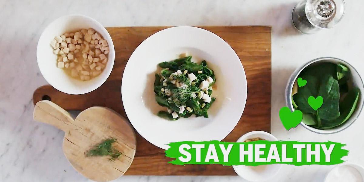 Penne Bean Zone ragu di orata, crema di spinaci e finocchietto
